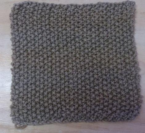 Moss Stitch Block