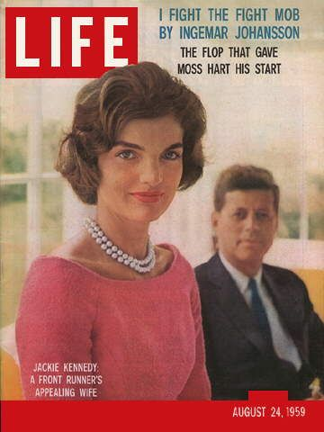 LIFE Magazine August 24, 1959 - Jackie and John F. Kennedy