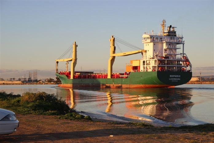Bosphorus in the Port River by roybat