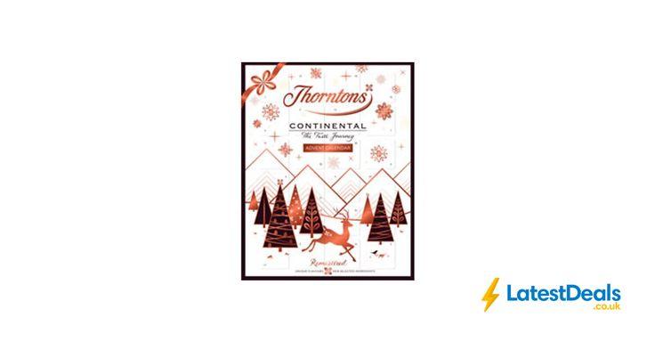 Thorntons Continental Advent Calendar 278g Free C&C, £7 at Wilko