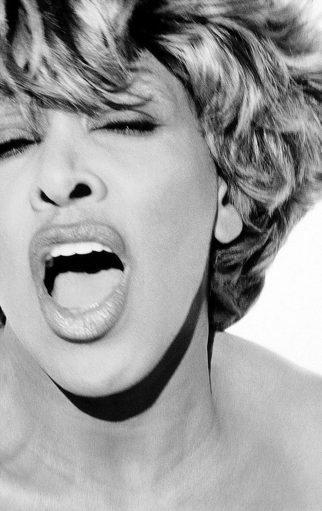 """Tina Turner by Herb Ritts    She is best known (probably) for belting out """"Proud Mary"""" but I think my favorite song by her was """"Thunderdome""""   : )"""