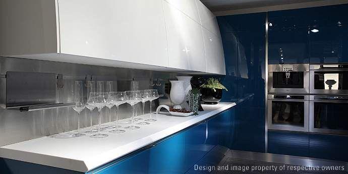 Flux kitchen by Scavolini, design Giugiaro Design