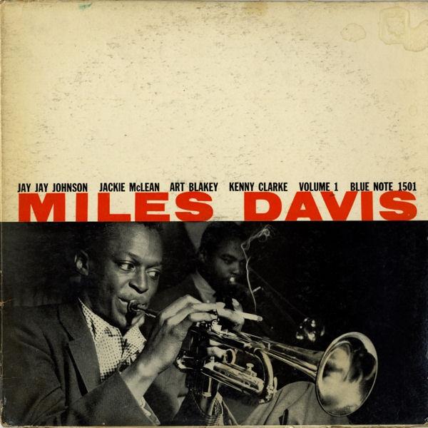Miles Davis Volume 1 Blue Note Album Cover, 1963