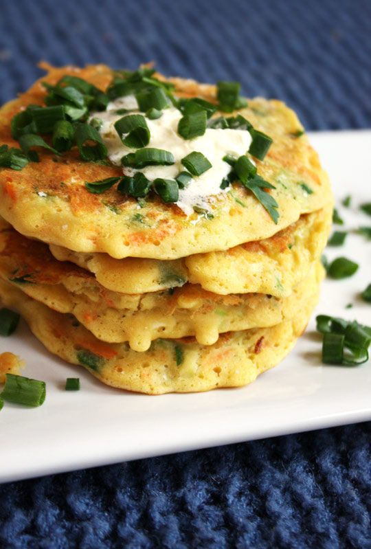 Healthier Zucchini & Carrot Stuffed Fritters Recipe with zucchini, carrots, green onions,