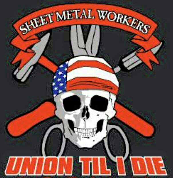 how to join sheet metal union