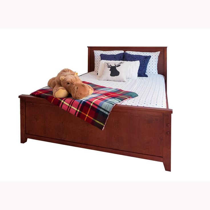 Jackpot! Traditional Panel Bed - 71FBED-004