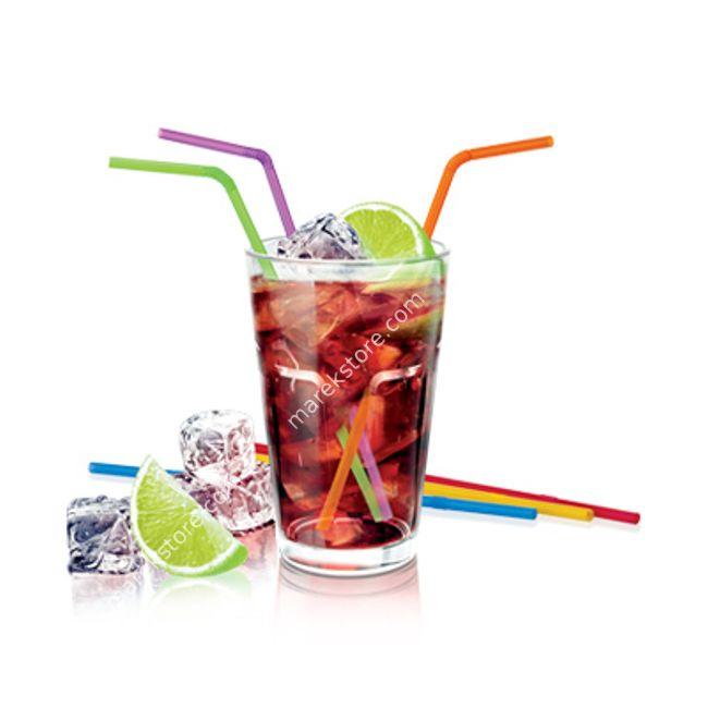 Słomki zginane do serwowania napojów i drinków z lodem - komplet 40 szt.