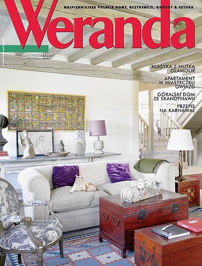 Okładka magazynu Weranda 2/2013 www.weranda.pl