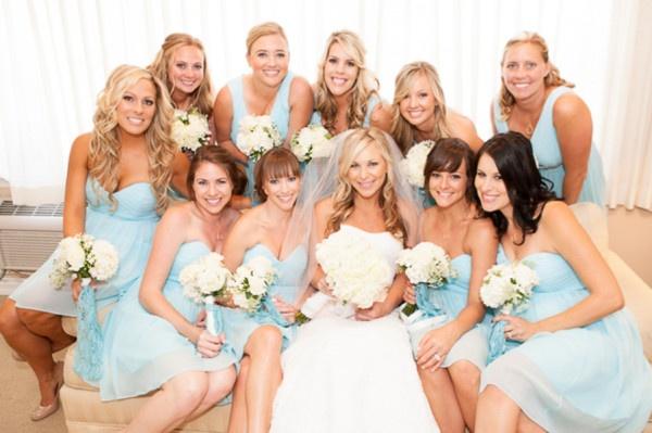 *Dress Colors* Kelly + Anthonys Classic Coastal Wedding