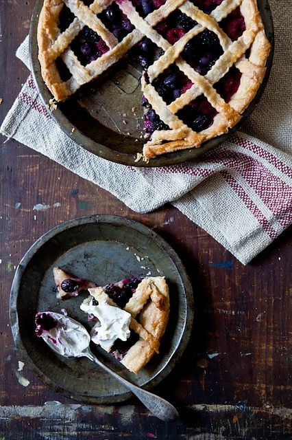 Mixed Berry Pie by tartelette, via Flickr