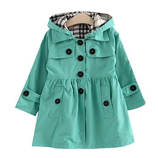 Free Fisher Abrigos Chubasquero Sudadera Coat Girls Windbreaker Niñas Rosa90: Amazon.es: Ropa y accesorios
