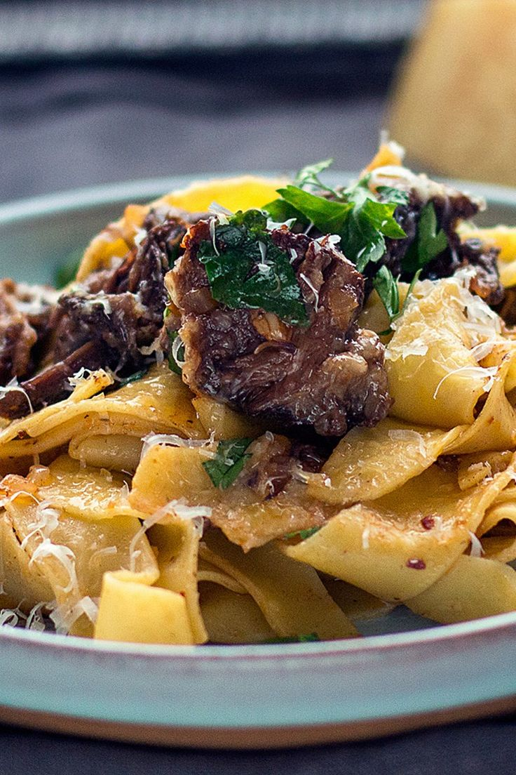 how to cook pappardelle nests