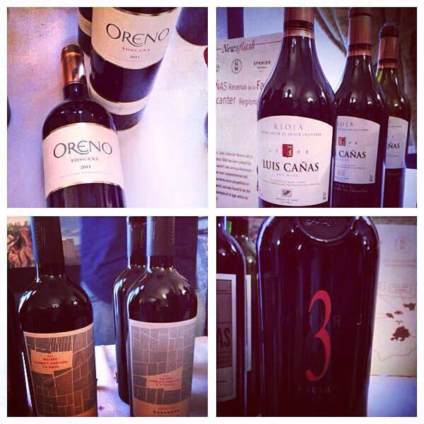Lovely wines from Argentina, Italy and Spain. The Malbec won Malbec of the year last year