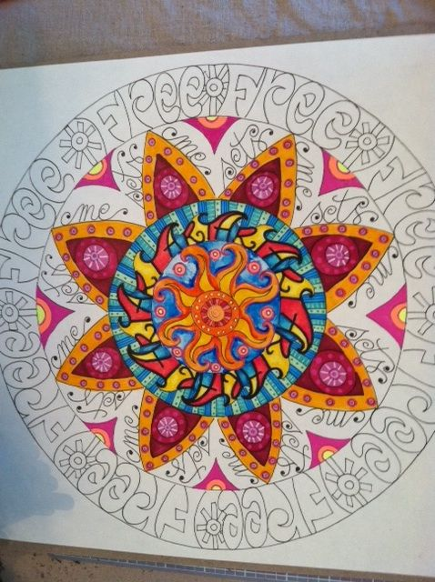 "rappy-art: Bonus Lesson #33: ""Mandala Madness"""