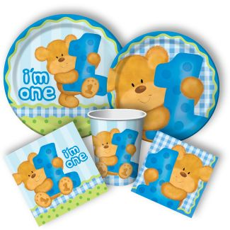 Teddy Bear 1st Birthday Supplies, Teddy Bear Party Supplies