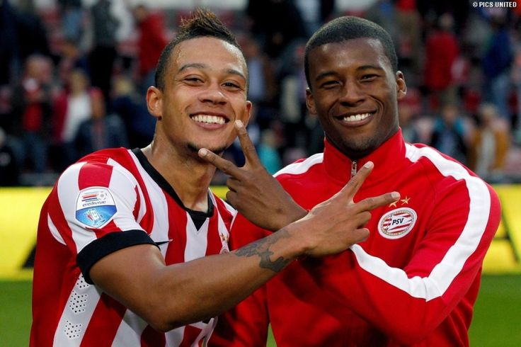 Depay & Wijnaldum vs NAC Breda (6-1)