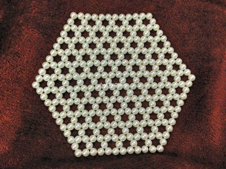 Beads Table mat http://shristhi4dec.blogspot.in/