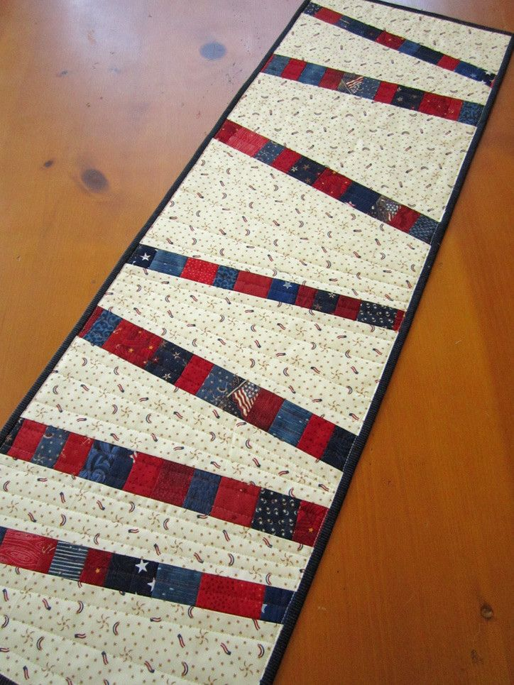 It's time to decorate your table for the 4th of July and this table runner would…