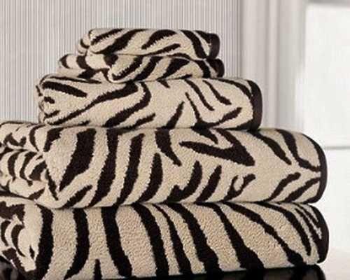Bathroom Towels With Zebra Print Zebra Print Pinterest