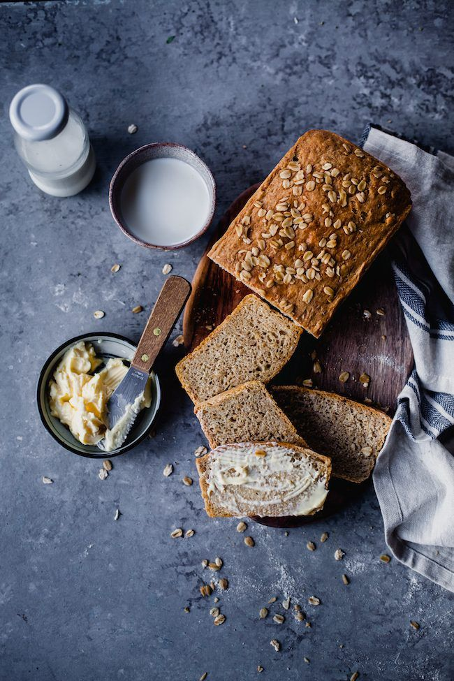 Flax And Oats Wheat Bread