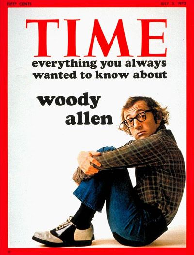 July 3, 1972Inspiration, Film Quotes, Time Covers, Woodyallen, Movie, Cinema People, Woody Allen, Magazines Covers, Allen Film
