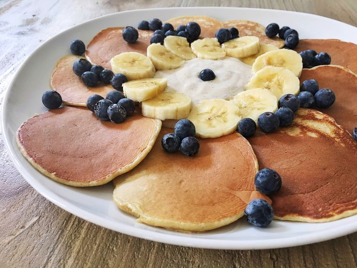 My Favorite Healthy Protein Pancakes