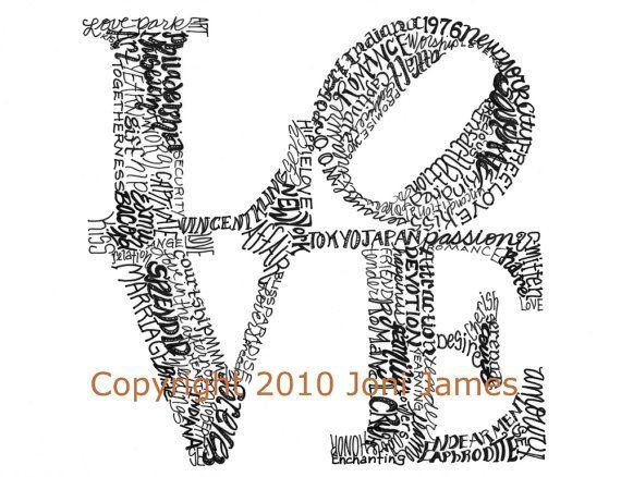 calligram on Pinterest   Word Art, Typography and Violin Art