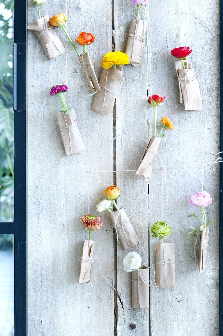 Een bloemenspektakel aan je muur of het plafond