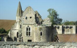 Le château d'Armentières-sur-Ourcq. Picardie