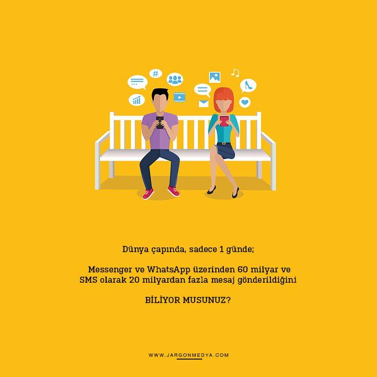 Mesajlaşma Gününüz kutlu olsun :) Sahi bugün hiç güzel bir mesaj aldınız mı? :) #jargonmedya #creative #agency #DünyaMesajlaşmaGünü #ankara #turkiye #turkey