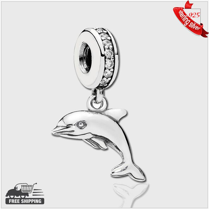 Find More Beads Information about Authentic 925 Sterling Silver Beads Dolphin silver dangle with cubic zirconia fashion Fits Pandora Style Bracelets,High Quality beads silver 925,China silver bead bracelet Suppliers, Cheap silver beaded applique from silver chinese on Aliexpress.com