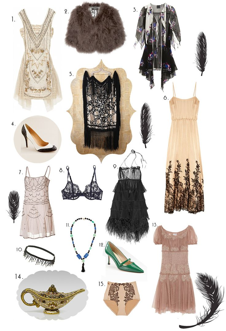 Boardwalk Empire inspired fashion featured in Sea of Shoes blog