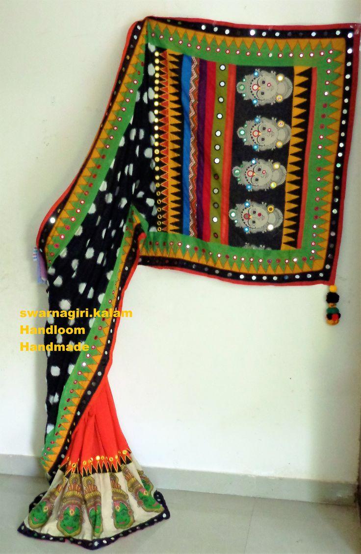 Ikkat saree from swarnagiri.kalam To order this saree inbox me to swarnagiri.kalam