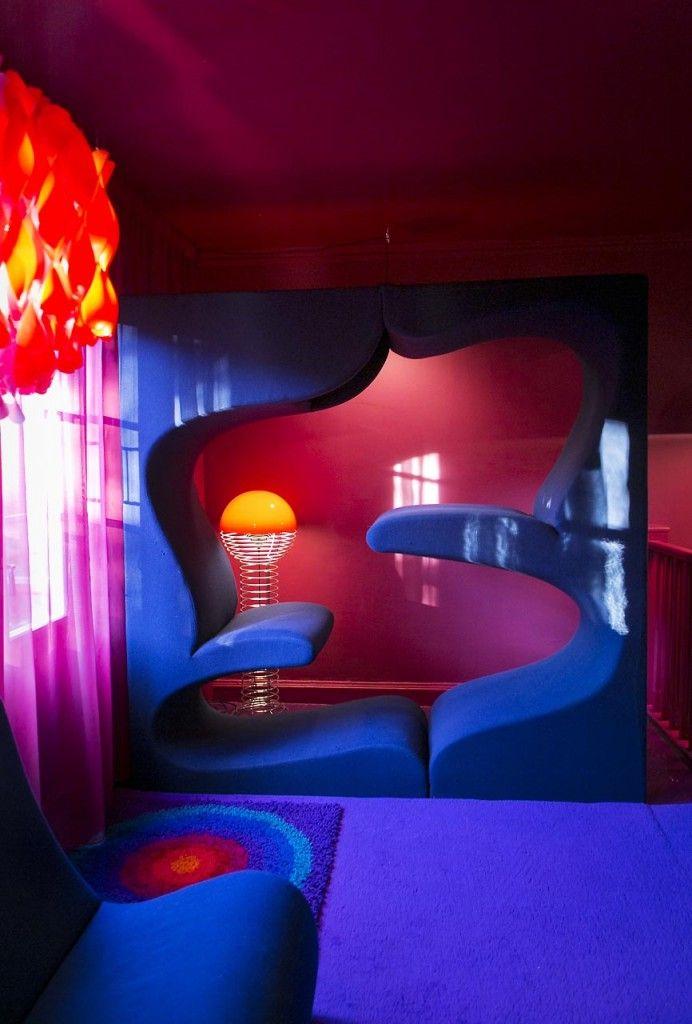 verner panton living tower by verner panton pinterest inspiration. Black Bedroom Furniture Sets. Home Design Ideas