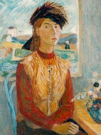 Tove Jansson, self portrait -  Tove Jansson (1914-2001) oli suomenruotsalalainen kirjailija, taidemaalari, filosofian tohtori, pilapiirtäjä ja sarjakuvataiteilija, joka tunnetaan parhaiten Muumi-hahmojen luojana.