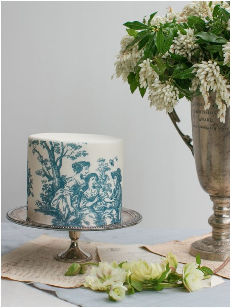 French inspired cake
