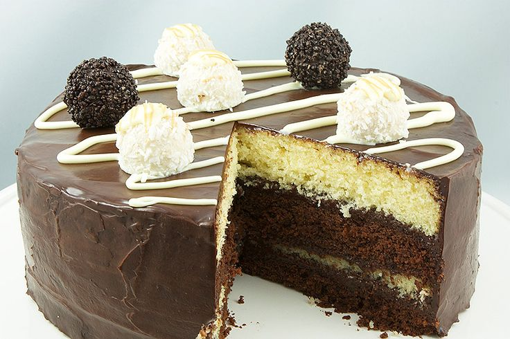 Cake - Ferrero Rocher® White and Dark Chocolate