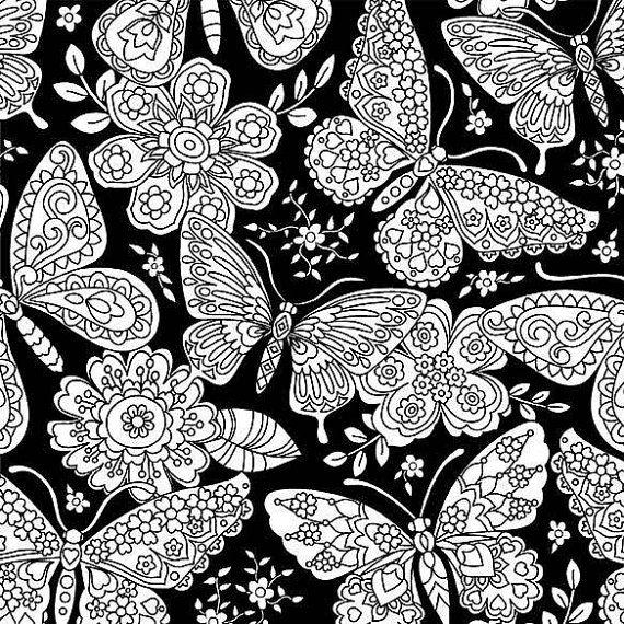 Michael Miller. Color me Papillon Paisley von TheFabricCobbler