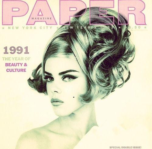 Debi Mazar for Paper Magazine, 1991