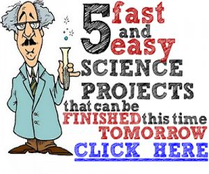 Whether you've known for weeks or your little angle didn't tell you until the night before, coming up with a worthwhile science project with little time available to do it can seem challenging. Just remember that there are plenty of fantastic projects out there that take less than 24 hours to accomplish and many of them use products you would already have at home. Here are 3 easy experiments that can be done in no time at all.