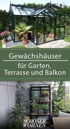 Gewachshauser Fur Balkon Garten Und Terrasse Gewachshaus