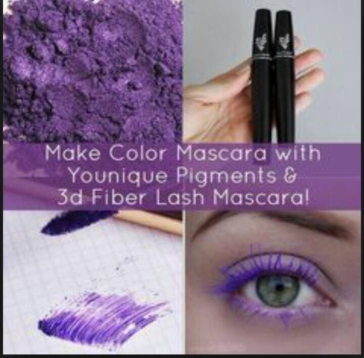 Just discovered a neat little #Hack with our 3D #Mascara! Go check out all our pigments and tell me which color you would go for! www.youniqueproducts.com/inspirationalbeauty #makeup #beauty #beautytips