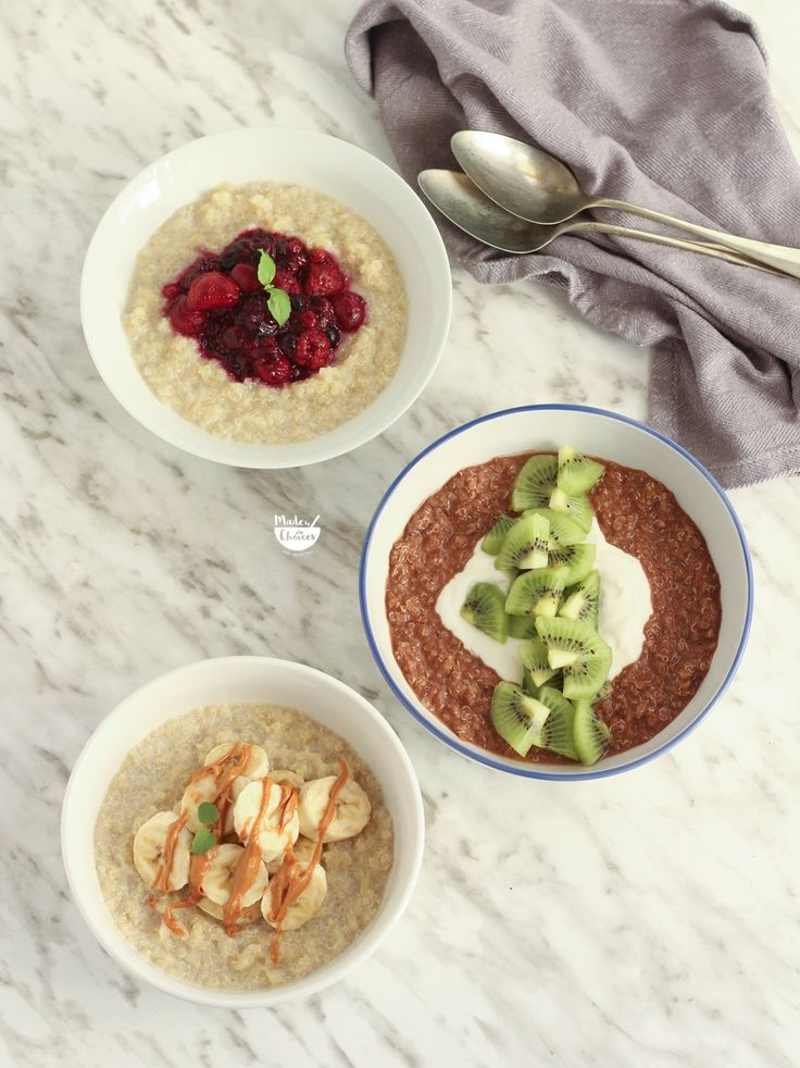 Receita e video de como fazer papas de quinoa de uma forma rápida, simples e deliciosa. O pequeno-almoço perfeito para manhas agitadas.