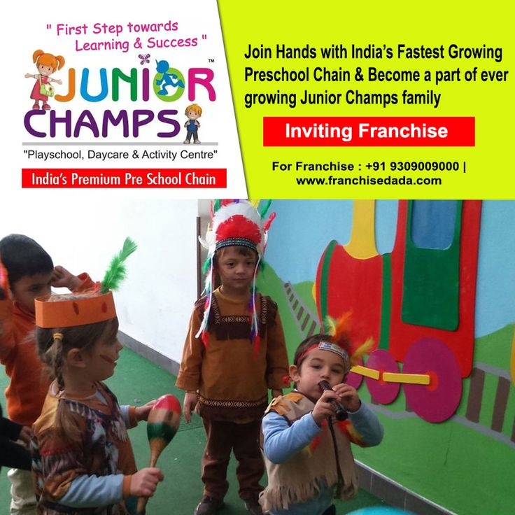 Join Hands with India's Fastest Growing Pre School Chain