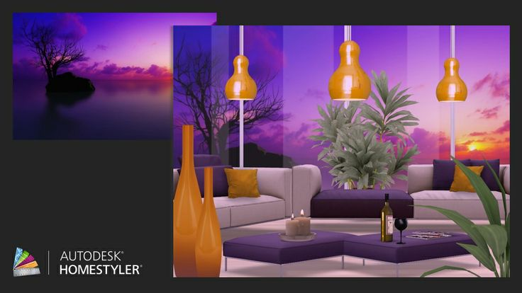 "Check out my #interiordesign ""Orange sunset"" from #Homestyler http://autode.sk/1je3Z1K"