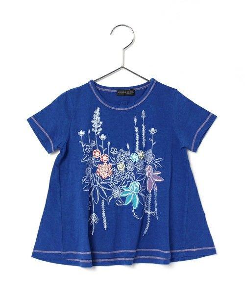 【ZOZOTOWN】zuppa di zucca(ズッパ デ ズッカ)のTシャツ/カットソー「ガーデンプリントTシャツ(100~120)」(28290200-B)をセール価格で購入できます。