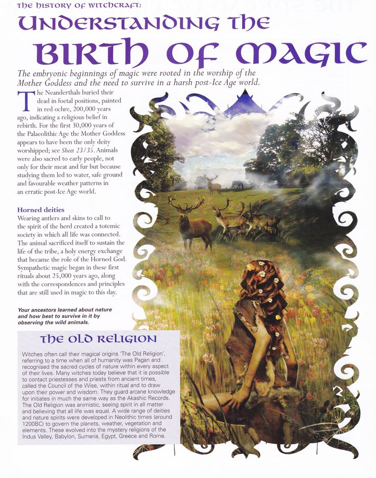 Magick Spells:  #BOS Understanding the Birth of #Magic page.