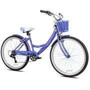 Kent 26 Bayside Women S Cruiser Bike Rose Gold Walmart Com Custom Bikes Cruiser Bike Bicycle