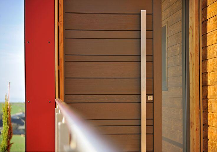 Porte d'entrée Zilten Nativ 3, red cedar