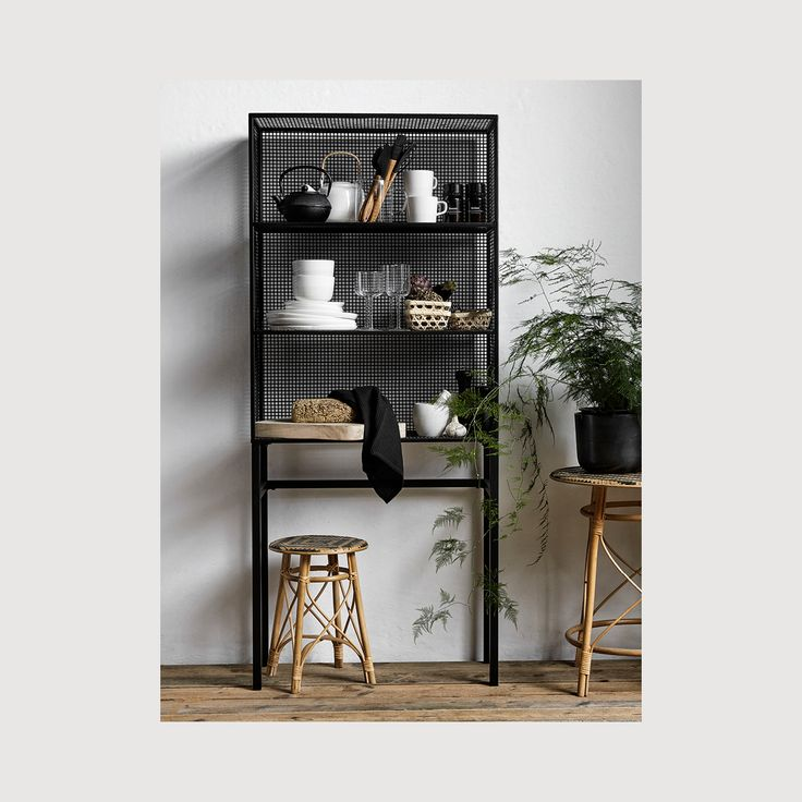 Black Display Cabinet | House of Sloane